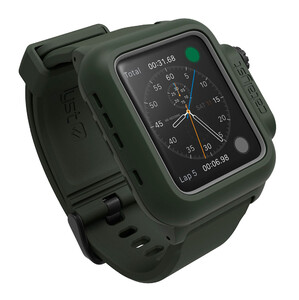 Купить Водонепроницаемый чехол Catalyst Army Green для Apple Watch Series 2/3 42mm