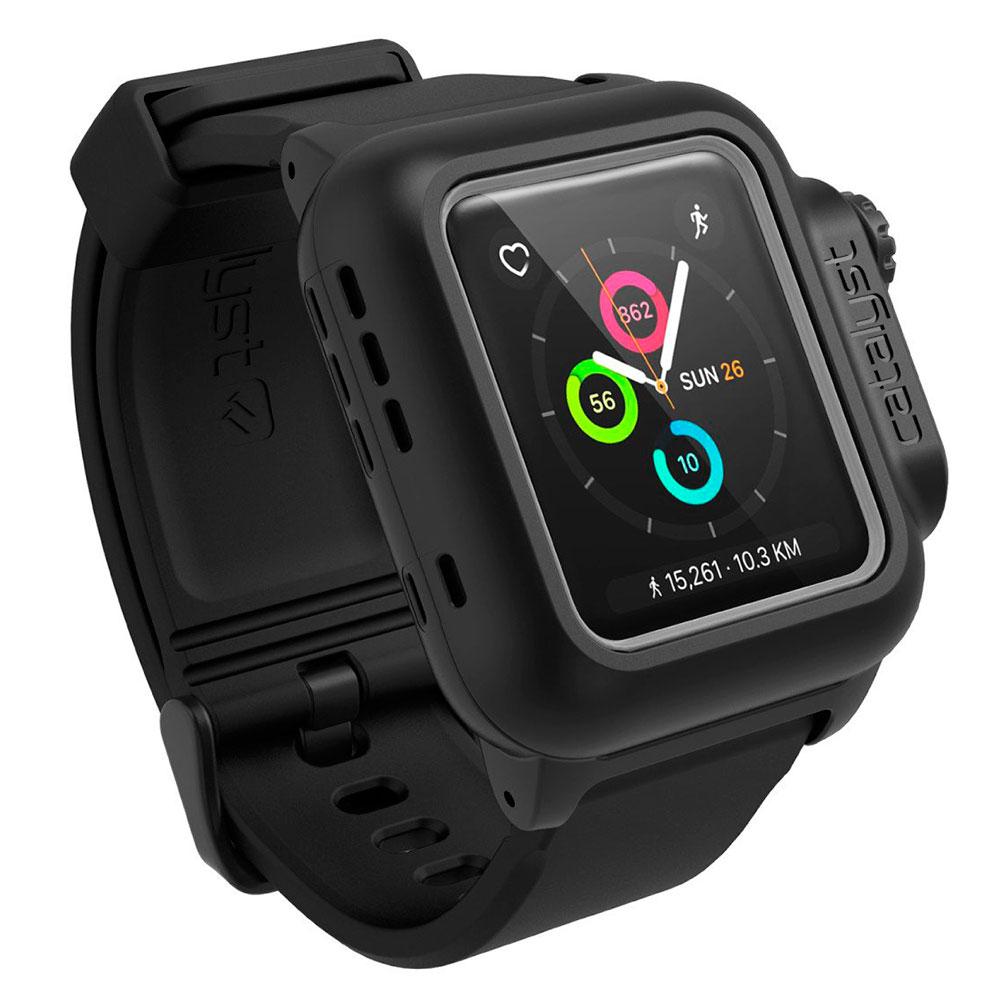 Купить Водонепроницаемый чехол Catalyst Stealth Black для Apple Watch Series 2 | 3 38mm