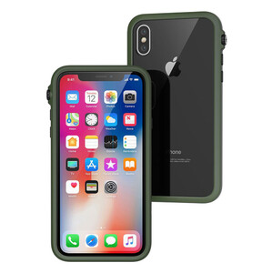 Купить Противоударный чехол Catalyst Impact Protection Army Green для iPhone X/XS