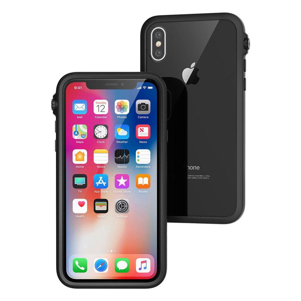 Купить Противоударный чехол Catalyst Impact Protection Stealth Black для iPhone X | XS