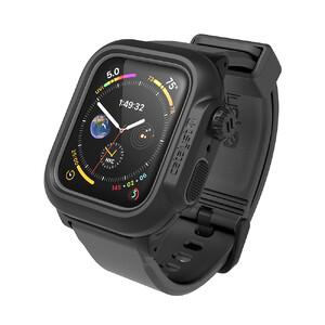 Купить Противоударный чехол-ремешок Catalyst Waterproof Case Space Gray для Apple Watch 44mm Series 5/4