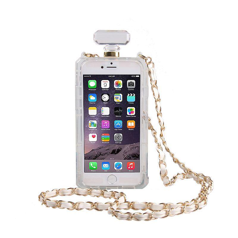 Чехол-сумочка Chanel №5 Clear для iPhone 6/6s