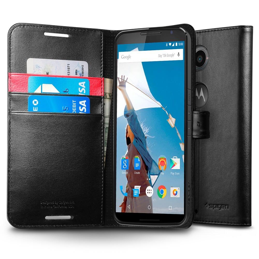 Чехол Spigen Wallet S для Motorola Nexus 6