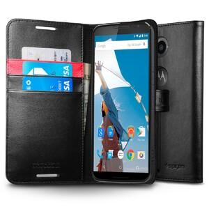 Купить Чехол Spigen Wallet S для Motorola Nexus 6