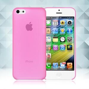Купить Розовый ультратонкий чехол O'Thinner 0.2mm для iPhone 5C