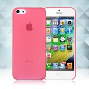 Купить Красный ультратонкий чехол O'Thinner 0.2mm для iPhone 5C
