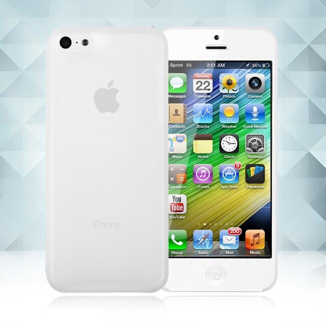 Прозрачный ультратонкий чехол O'Thinner 0.2mm для iPhone 5C