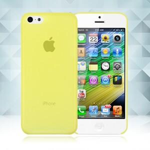 Купить Желтый ультратонкий чехол O'Thinner 0.2mm для iPhone 5C