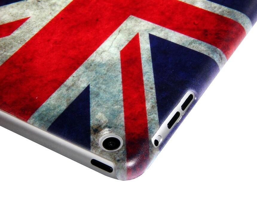 Пластиковый чехол Union Jack для iPad mini