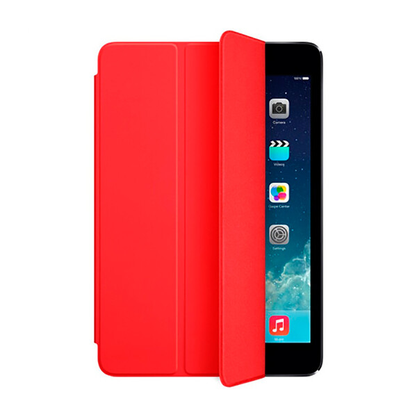 Силиконовый чехол Apple Smart TPU Cover (PRODUCT) Red (MD828) для iPad mini 3   2   1