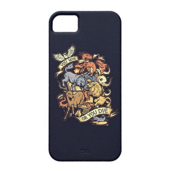 """Чехол Bart """"Win or Die"""" для iPhone"""