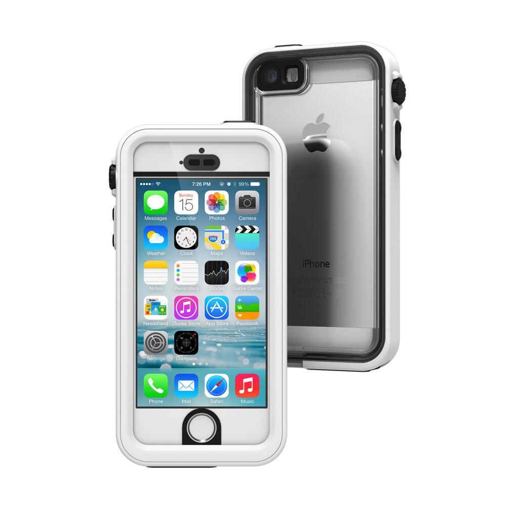 Водонепроницаемый чехол Catalyst Alpine White для iPhone 5/5S/SE