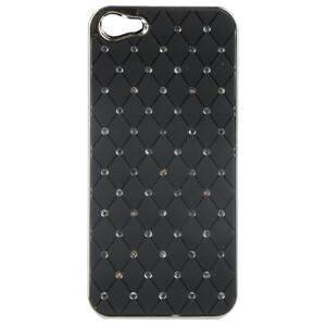 Купить Чехол Minjes Swarovski Black для iPhone 5/5S/SE
