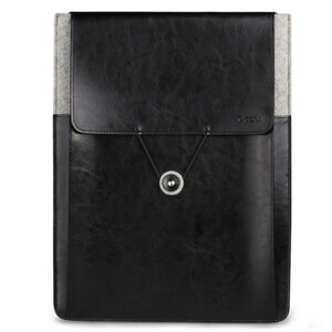 Купить Кожаный чехол d-park Vintage Envelope Black для MacBook Air/Pro 13