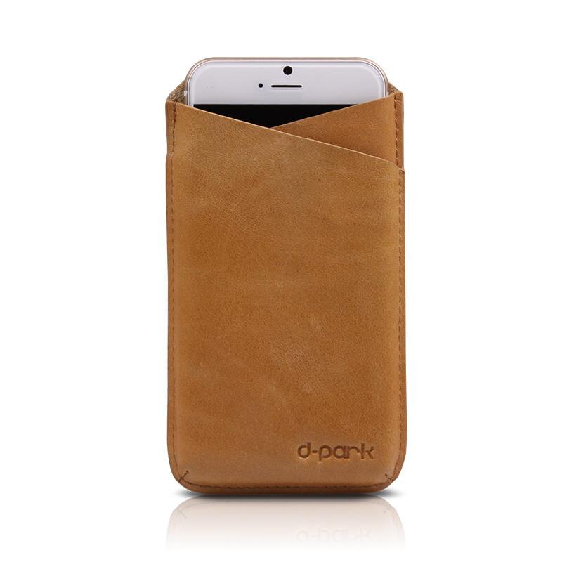 Чехол-карман d-park V-Neck Coffee для iPhone 6/6s/7