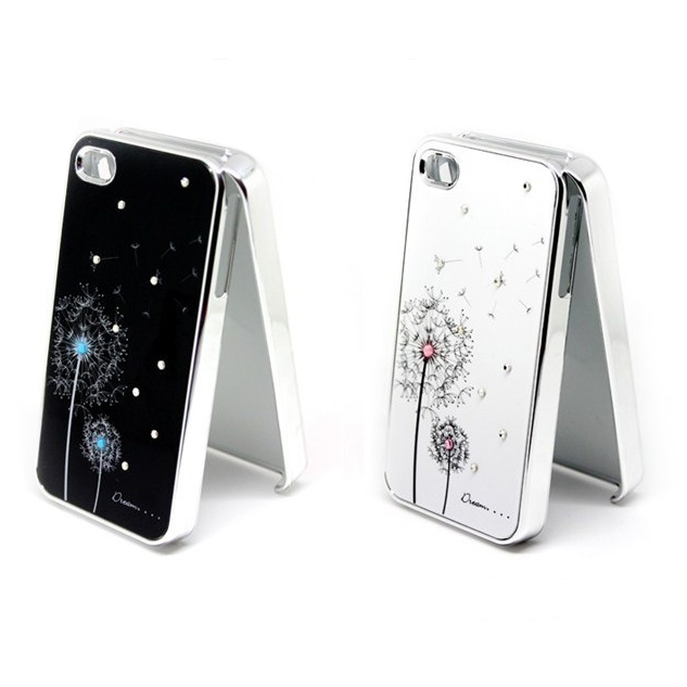 Чехол SWAROVSKI Dandelion для iPhone 4/4S
