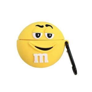 Купить Силиконовый чехол с карабином oneLounge Silicone Case M&M Yellow для AirPods Pro