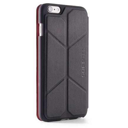 Чехол Element Case Soft-Tec Black/Red для iPhone 6/6s Plus