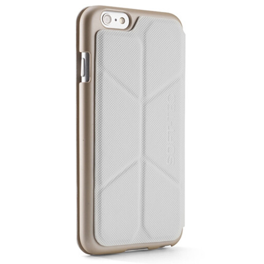 Чехол Element Case Soft-Tec White/Gold для iPhone 6/6s