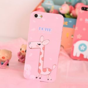 Купить Чехол DEHK Lovely Giraffe для iPhone 5/5S/SE