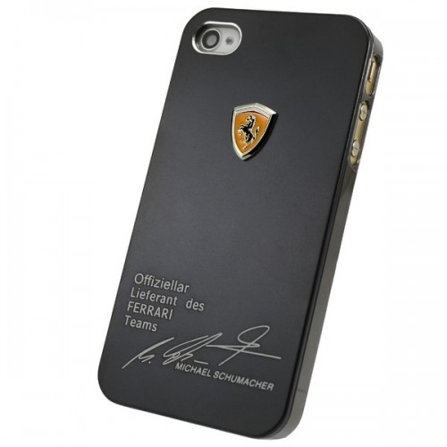 Чехол FERRARI Signature Michael Schumacher для iPhone 4/4S