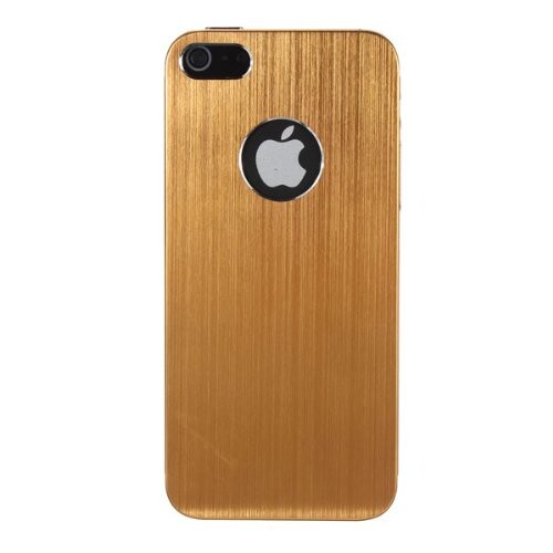 Золотой чехол Gold Aluminum Brushed для iPhone 5/5S/SE