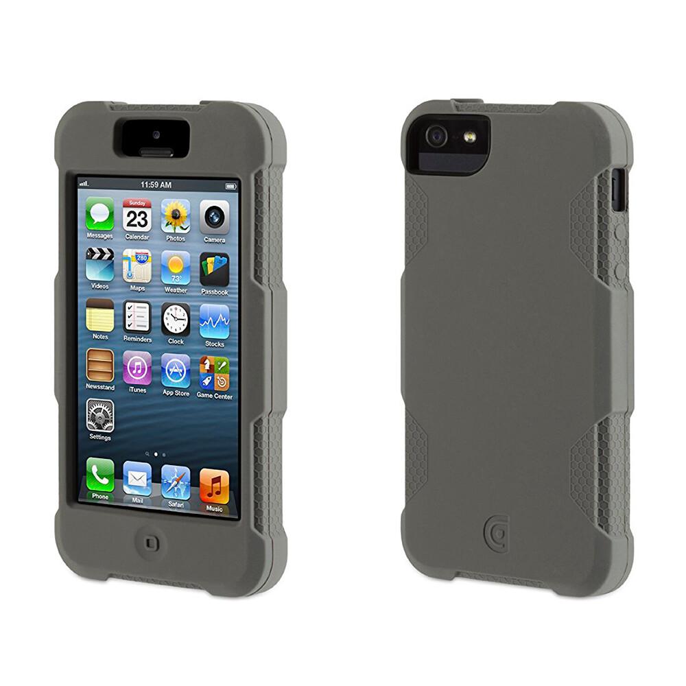 Чехол GRIFFIN Protector Gray для iPhone 5/5S/SE