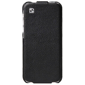 Купить Кожаный флип-чехол HOCO Duke Black для iPhone 5C