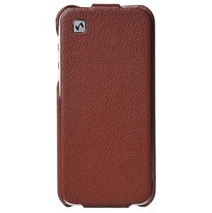 Купить Кожаный флип-чехол HOCO Duke Brown для iPhone 5C