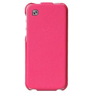 Купить Кожаный флип-чехол HOCO Duke Pink для iPhone 5C