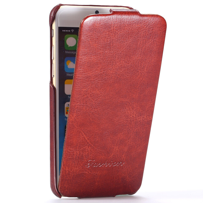 Красный флип-чехол HOCO Floveme для iPhone 6/6s