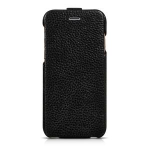 Купить Кожаный чехол HOCO Premium Collection Flip Black для iPhone 6/6s