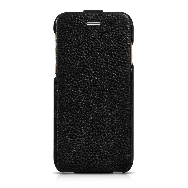 Кожаный чехол HOCO Premium Collection Flip Black для iPhone 6/6s