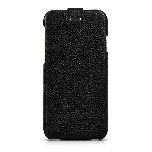 Кожаный чехол HOCO Premium Collection Flip Black для iPhone 6/6s
