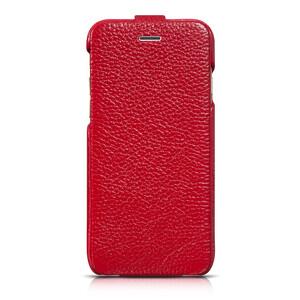 Купить Кожаный чехол HOCO Premium Collection Flip Red для iPhone 6/6s