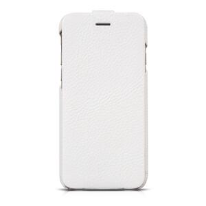 Купить Кожаный чехол HOCO Premium Collection Flip White для iPhone 6/6s