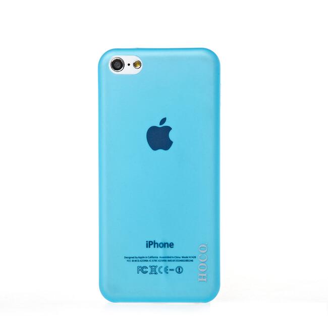 Чехол HOCO Ultra Thin Blue для iPhone 5C