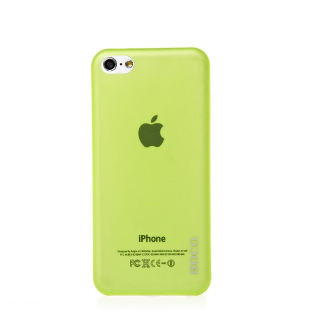 Чехол HOCO Ultra Thin Green для iPhone 5C