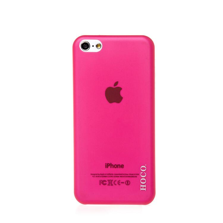 Чехол HOCO Ultra Thin Pink для iPhone 5C