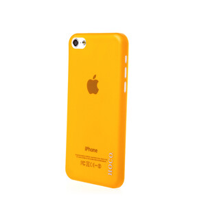 Купить Чехол HOCO Ultra Thin Yellow для iPhone 5C