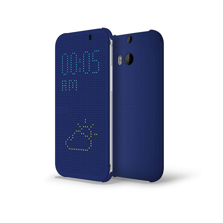 Купить Чехол oneLounge HTC Dot View oneLounge для HTC One M8 Синий