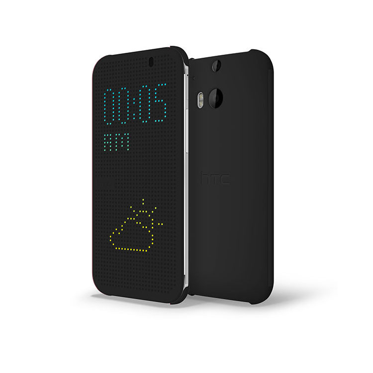 Купить Чехол oneLounge HTC Dot View 2 oneLounge для HTC One M8 Серый