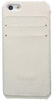 Белый чехол iCarer Card Inserted с отделениями для карточек для iPhone 5/5S/SE
