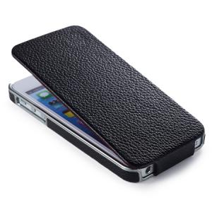 Купить Чехол iCarer Electroplating Flip Black для iPhone 5/5S/SE