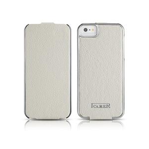 Купить Чехол iCarer Electroplating Flip White для iPhone 5/5S/SE