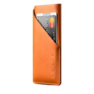 Купить Чехол-карман MUJJO Leather Wallet Sleeve Tan для iPhone X/XS