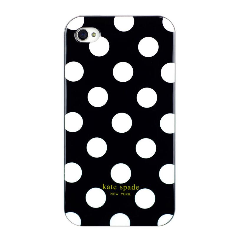 Чехол Kate Spade black для iPhone 4/4S