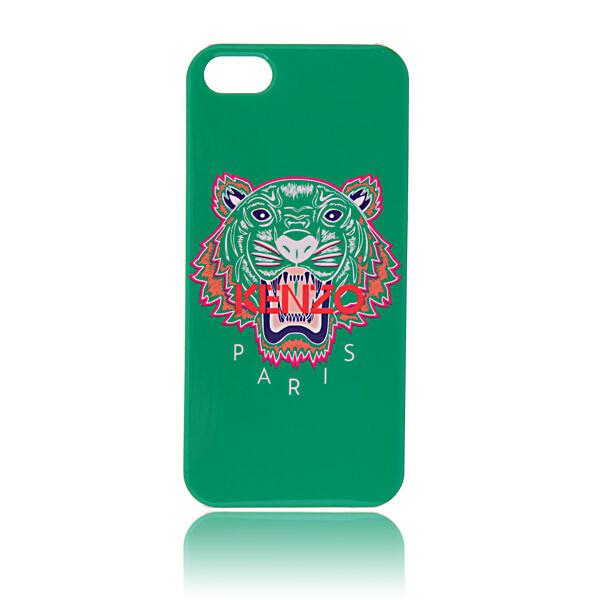 Чехол Kenzo TIGER Green для iPhone 5/5S/SE