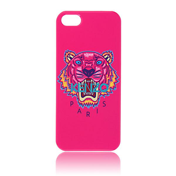 Чехол Kenzo TIGER Pink для iPhone 5/5S/SE