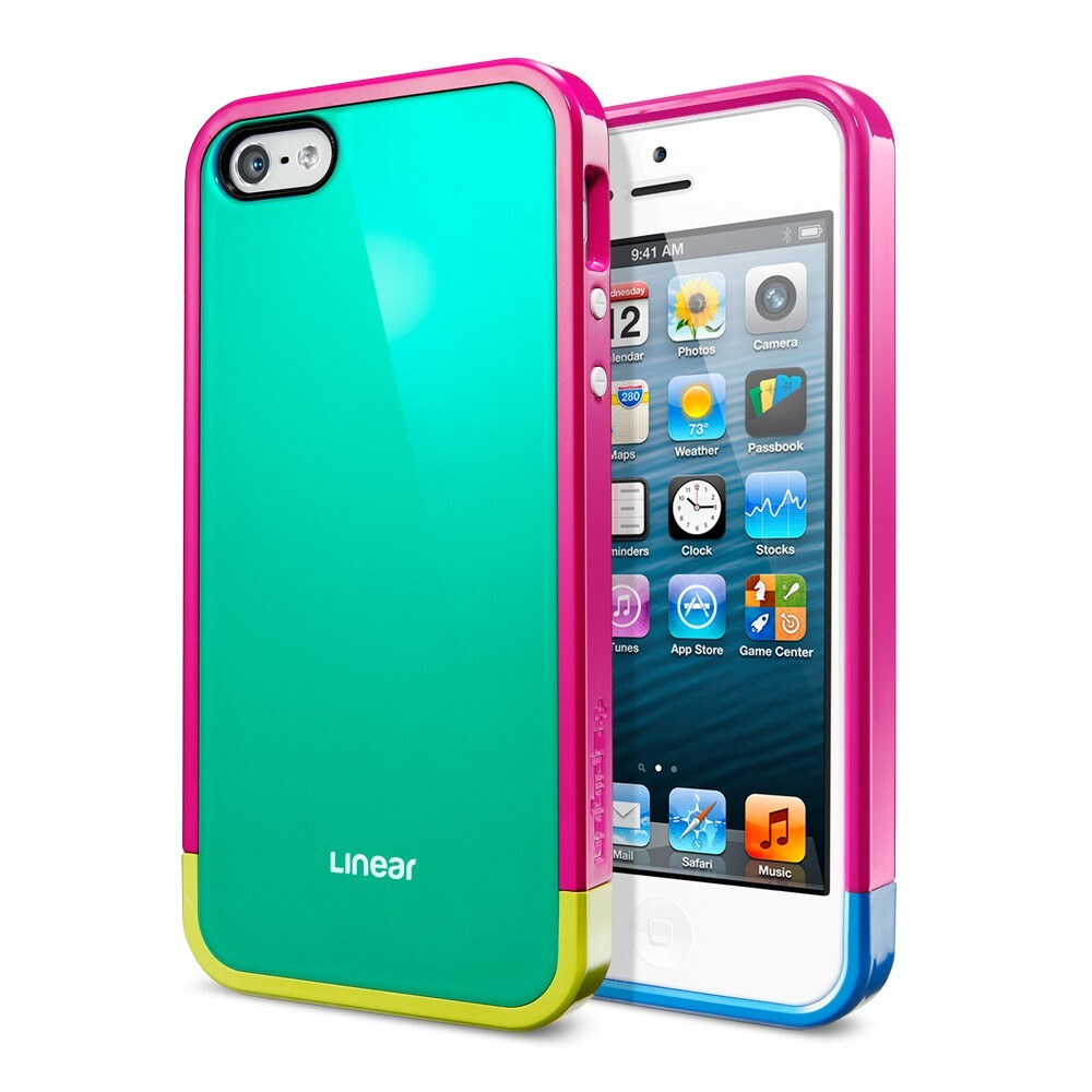 Чехол SGP Linear Pops для iPhone 5/5S/SE
